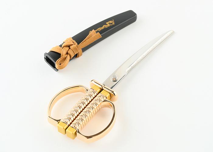 日本刀はさみ 金龍モデル