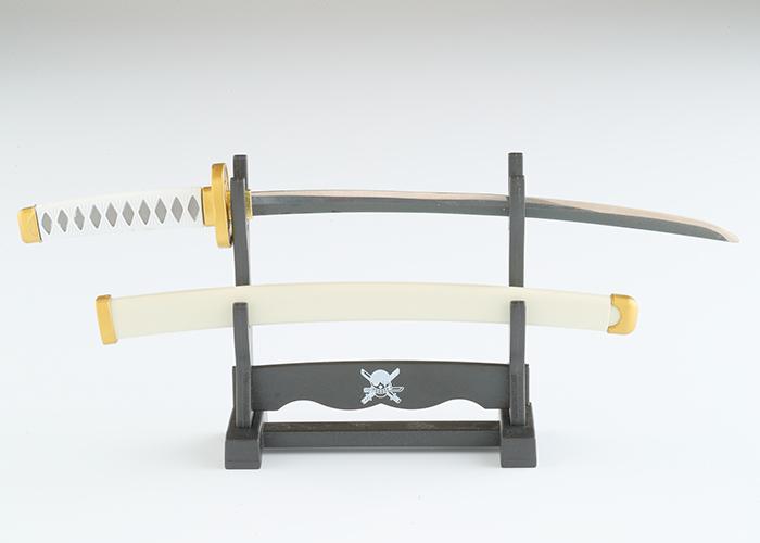 ワンピースペーパーナイフ和道一文字モデル(横掛け台付き)