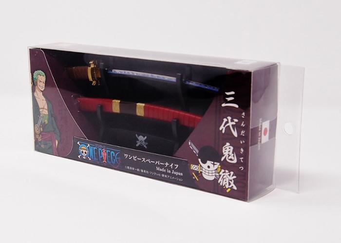ワンピースペーパーナイフ三代鬼徹モデル(横掛け台付き)