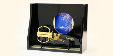 ミニチュア和室・日本刀鋏セット